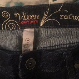 Curvy Boot cut Jeans! New without tag! Size 12